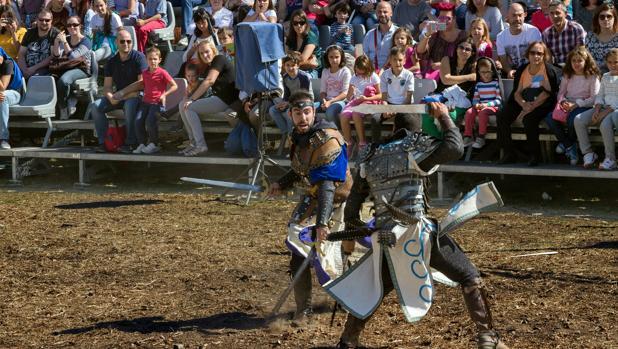 Recreación histórica en la Semana Cervantina de Alcalá de Henares