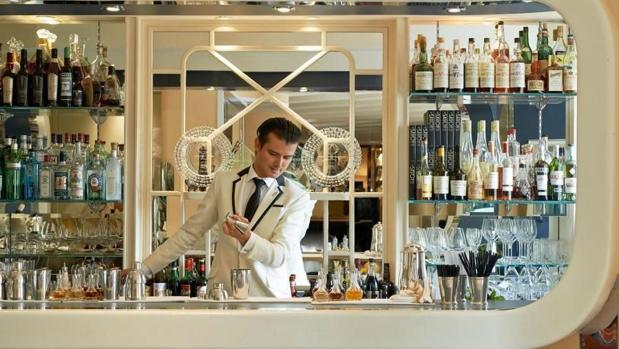Barra del American Bar, en el hotel Savoy