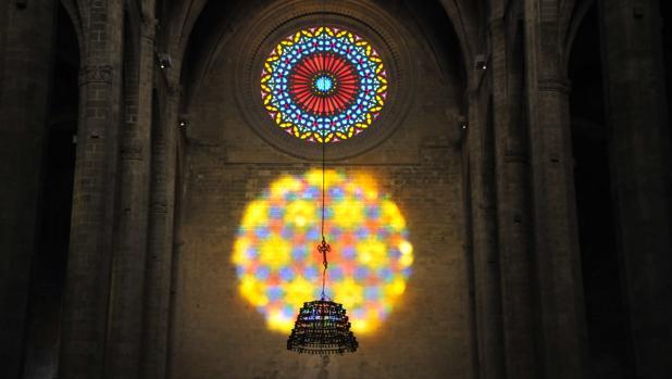 Espectáculo del Ocho, en la catedral de Palma de Mallorca
