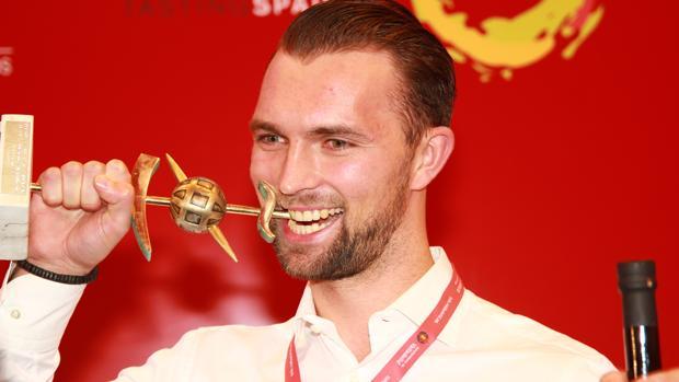 Øyvind Bøe, ganador del Primer Campeonato Mundial de Tapas para Profesionales de Hostelería Extranjeros de Valladolid