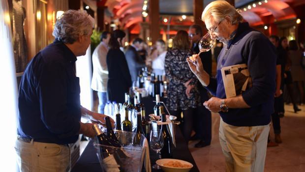 Salón del Vino de ABC, celebrado en Madrid