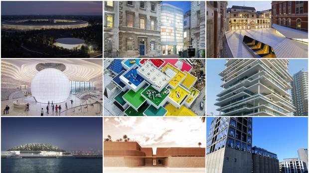 Nueve de los edificios seleccionados por Architectural Digest