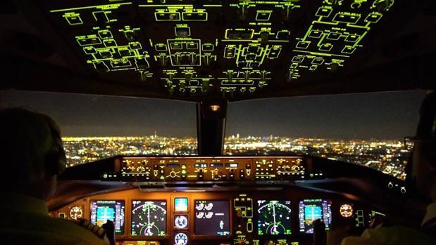 Despegue en el aeropeurto JFK, Nueva York