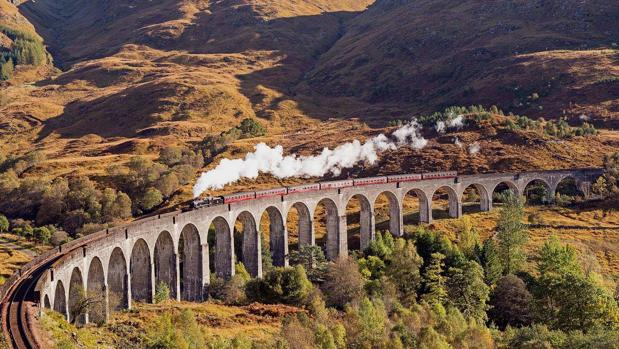 Viaducto de la línea jacobita