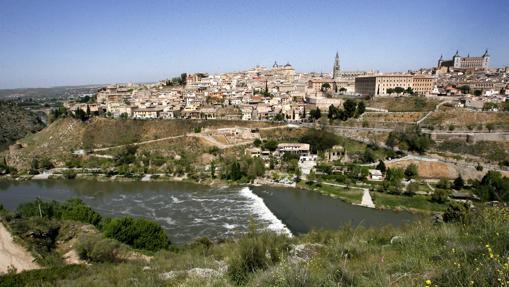 Vista de Toledo desde el valle