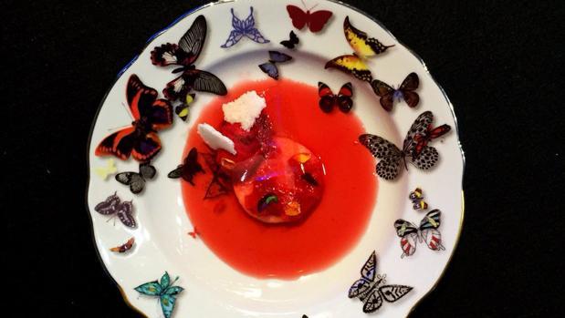 Los platos de la ponencia de Mario Sandoval, con el hilo conductor de las fibras