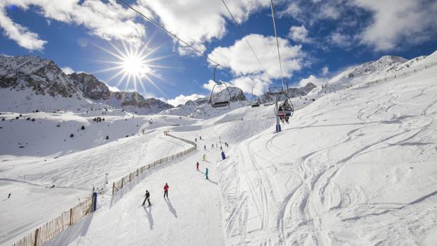 Pistas de esquí en Grandvalira