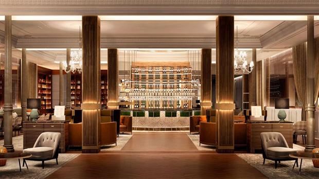 El hotel m s antiguo de madrid vuelve a la vida como un 5 for Listado hoteles 5 estrellas madrid