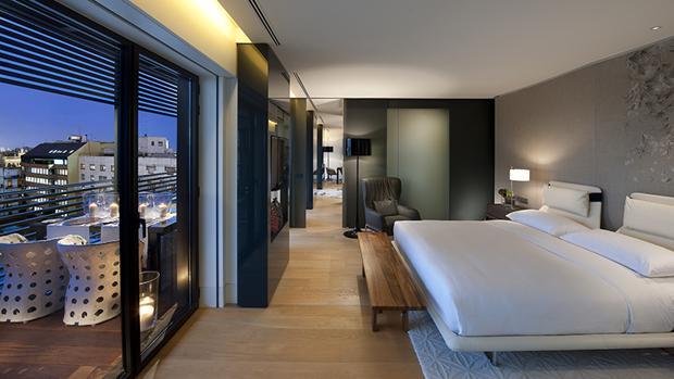Una habitación del Mandarin Oriental, en Barcelona