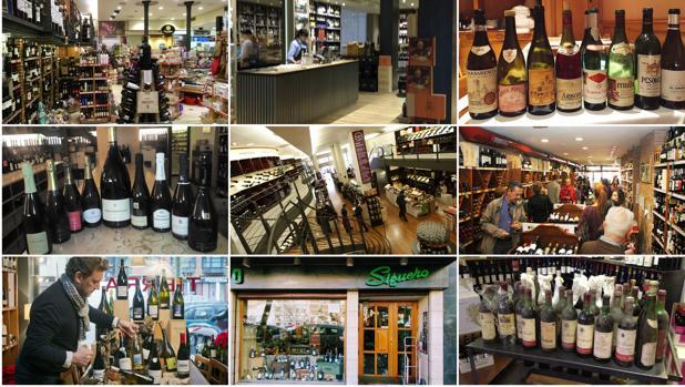 Diez de las mejores tiendas de vinos de Madrid