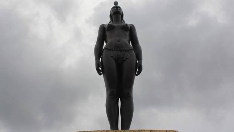 Una Indígena Rebelde Y Desnuda Que Cambió La Historia De España En Colombia