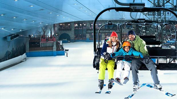Ski Dubai, el parque de nieve cubierto más grande del mundo