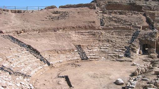 Tetro romano- Yacimiento arqueológico Bílbilis (Calatayud)