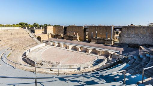 Teatro romano de Itálica, Santiponce, Sevilla