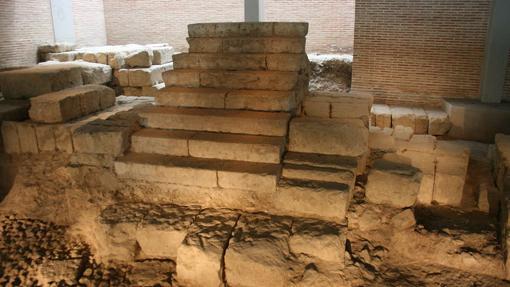 Restos del Teatro romano de Córdoba