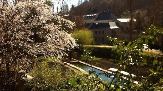 Visita de los jardines junto al Alcázar de Segovia