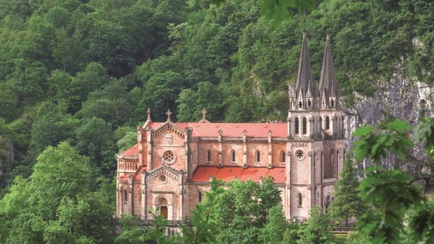 Santuario de Covadonga, en Asturias