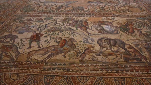 Mosaicos de la Villa romana La Olmeda