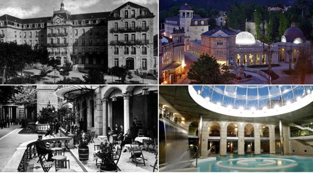El ayer y el hoy del Balneario de Mondariz