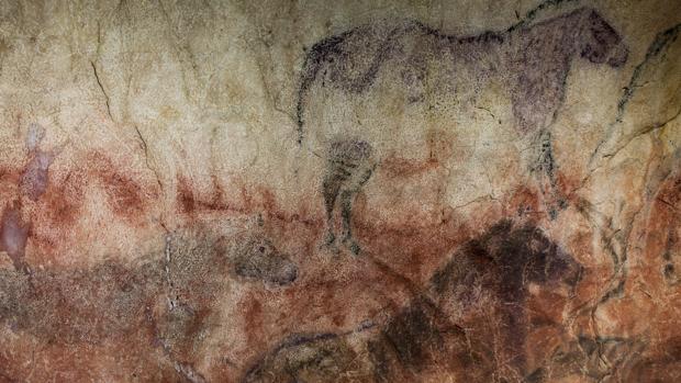 Pinturas del paleolítico en la cueva de Tito Bustillo