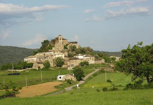 Latorrecilla, uno de los pueblos del municipio de Aínsa-Sobrarbe