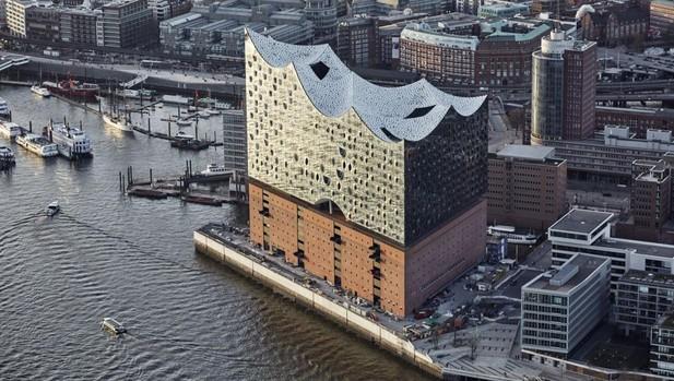 Filarmónica del Elba, en la HafenCity de Hamburgo