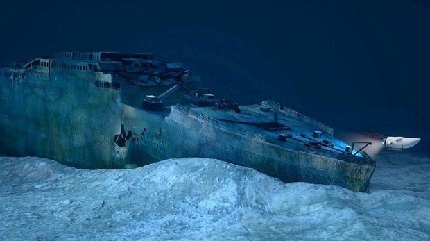 Imagen promocional de los viajes en busca del Titanic organizados por OceanGate