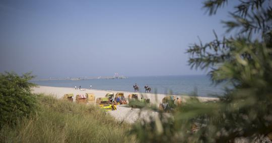 Un rincón de la Costa Norte de Alemania en Schleswig-Holstein
