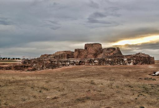 El recinto de la Edad del Bronce, en el corazón de La Mancha