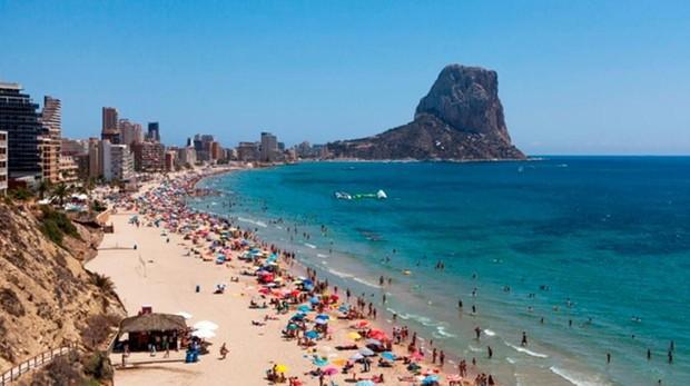 Vistas desde el AR Diamante Beach SPA Convention Centre, en Calpe, Alicante