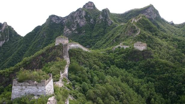 La «Gran Muralla China», una de las maravillas arquitectónicas del mundo