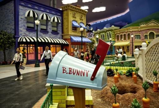 Bugs Bunny en el nuevo parque
