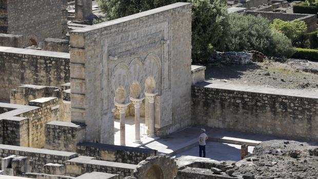 La llamada Puerta del Primer Ministro en Medina Azahara