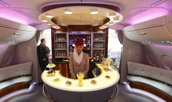 El A380, un avión muy solicitado por Emirates por su interior de lujo. Ahora, la aerolínea Norwegian podrá disfrutar de este modelo de avión por tres semanas