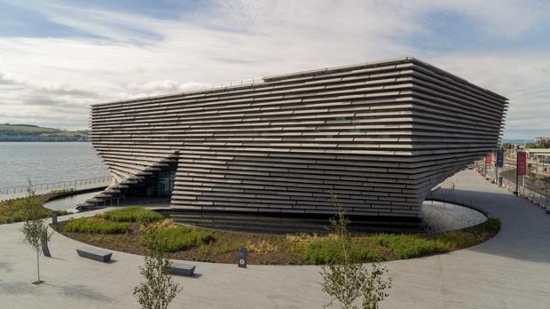 Museo V&A en Dundee, que será inaugurado a mediados de septiembre