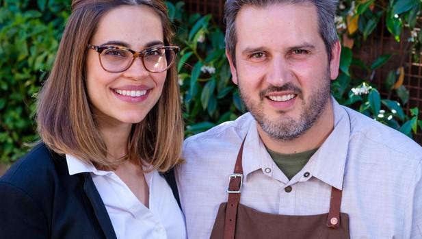 Perfecto Rocher y su esposa y socia, Alia Zaine, que empezaron cocinando en la calle, haciendo «pop ups» (restaurantes itinerantes) hasta abrir su proyecto en 2016