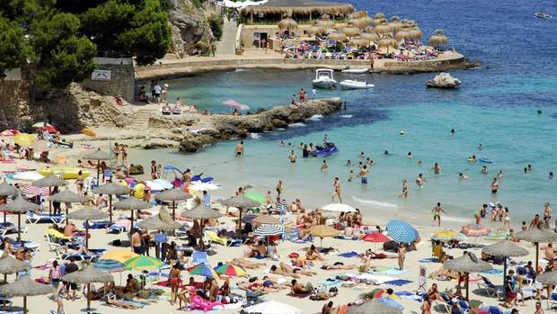 Playa de Ses Illetes, en Mallorca