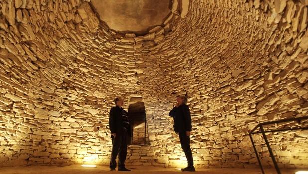 El Conjunto Arqueológico Dólmenes de Antequera lo conforma los Dólmenes de Menga, Viera y El Romeral (en la foto) en Antequera, Málaga, Patrimonio Mundial de la UNESCO desde 2016