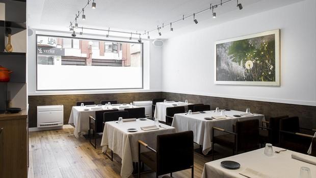 Sala del restaurante Trivio, en Cuenca
