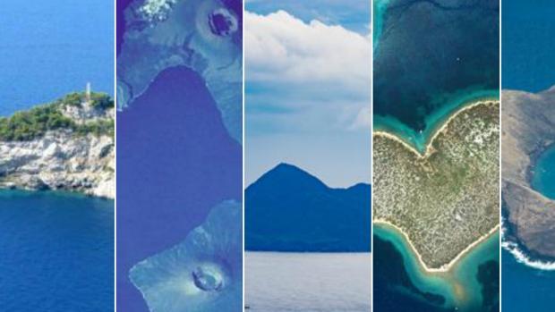 Caballito de mar o corazón: cinco islas famosas por sus curiosas formas