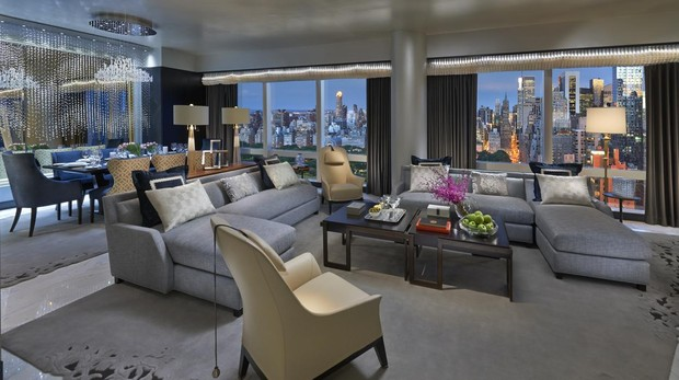 Suite 5000 del Mandarin Oriental New York
