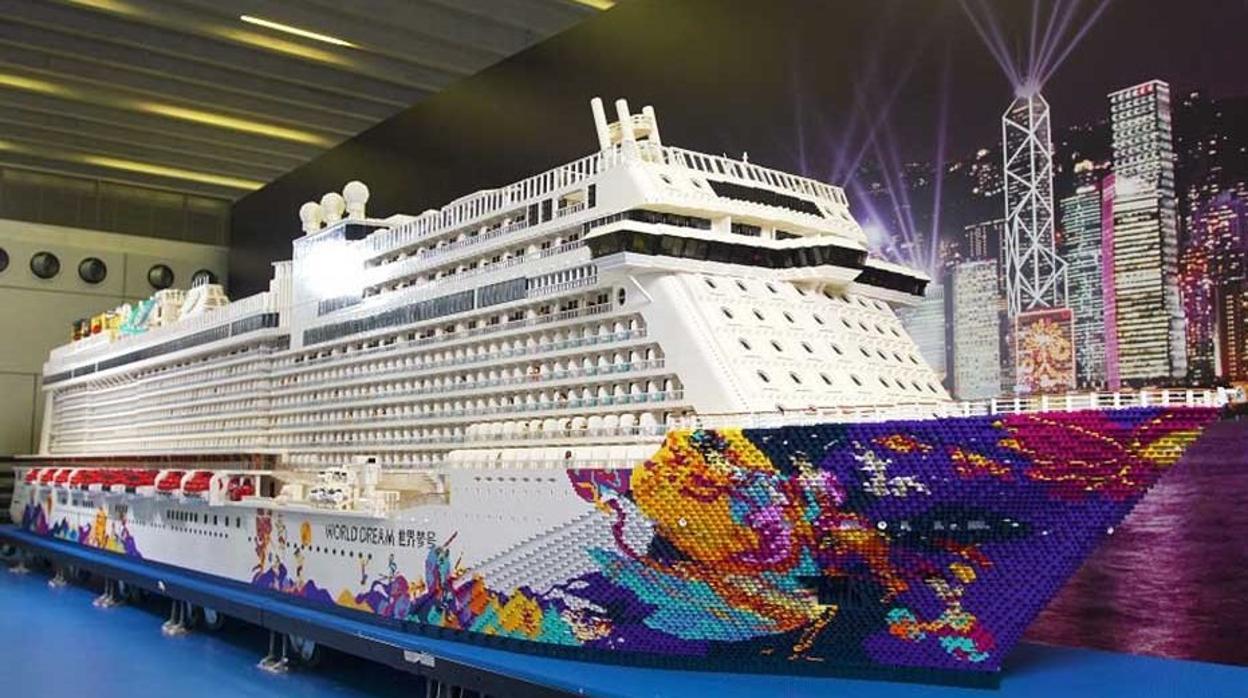 Así es el crucero de Lego más grande del mundo