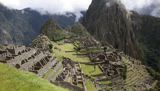 Ciudadela incia de Machu Picchu