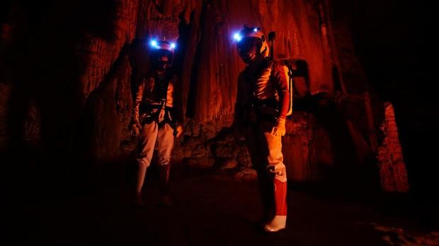 Astroland recreará en la cueva las condiciones de vida en Marte
