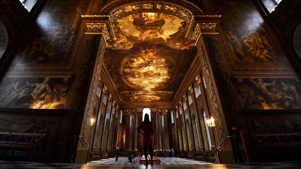 The Painted Hall, en el Old Royal Navy College, Londres