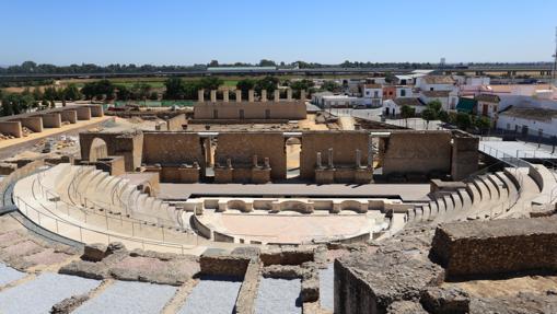 Anfiteatro romano en Itálica