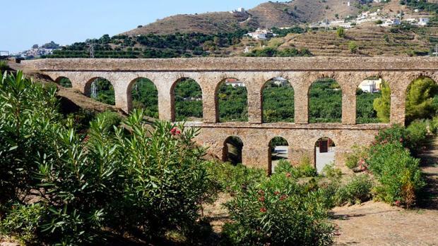 Acueducto de Almuñécar, en Granada