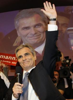 Victoria socialdemócrata en Austria y fuerte ascenso de los ultranacionalistas