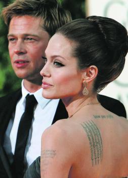 Opa hostil de Brad a Angelina