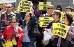 Exigen en manifestación que la LEC no discrimine a los discapacitados